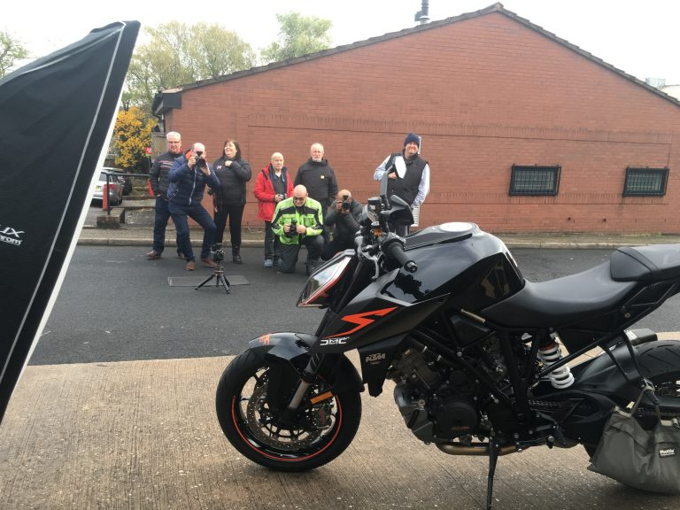 Motorcycle Photography Training Workshop Behind the Scenes